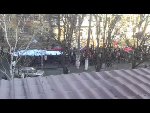 NOW : manifictation in odessa city ukraine 16-03-2014
