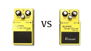 Waza Craft Boss SD-1w vs Super Overdrive SD-1