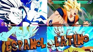 Dragon Ball FighterZ TODOS los movimientos ESPECIALES Audio Latino