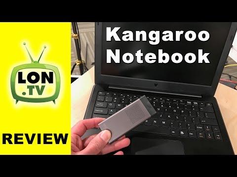 Kangaroo Notebook Review - Laptop computer with multiple computing modules