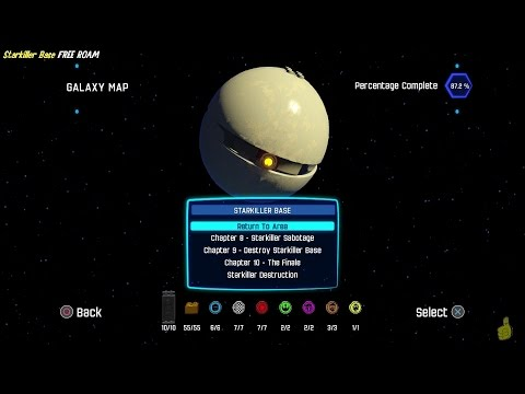 Lego Star Wars The Force Awakens: Starkiller Base FREE ROAM (All Collectibles) - HTG