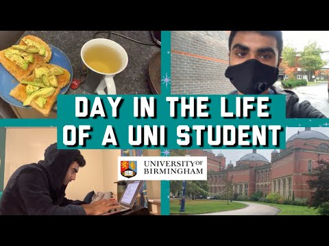 DAY IN THE LIFE OF A UNIVERSITY OF BIRMINGHAM STUDENT | CORONA EDITION, LAW!