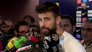 Gerard Piqué: 'It was the hardest game to play'