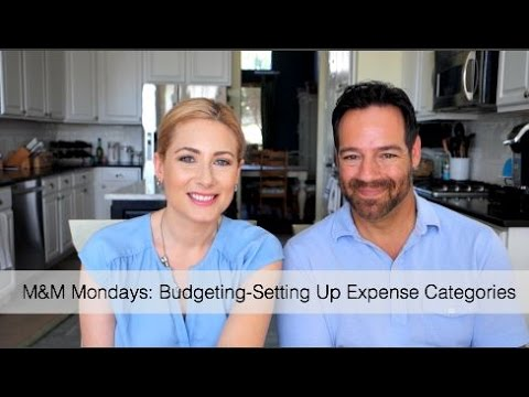 M&M Mondays: Budgeting-Setting Up Expenses