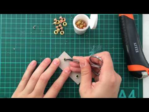 0 - Установка люверсів на штори 🥝 одяг, тканина своїми руками
