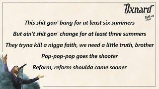 Anderson .Paak - 6 Summers Lyrics
