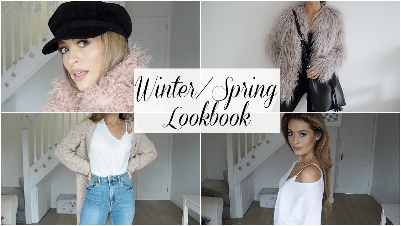 [VIDEO] - WINTER / SPRING LOOKBOOK OUTFIT IDEAS 8
