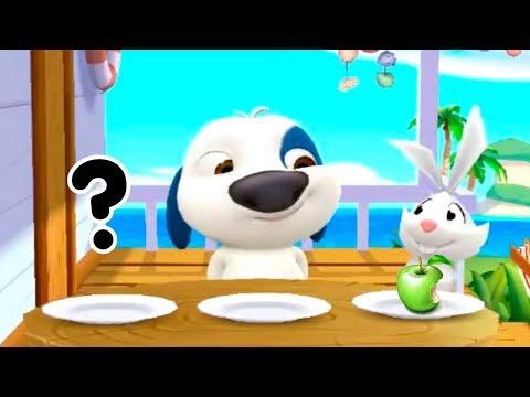 МОЙ ГОВОРЯЩИЙ ХЭНК #2 Друзья Анджела Том Игра мультик для детей Виртуальный питомец #Малышерин