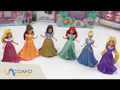 Muñecas De Princesas Disney Vestidos Para Princesas Youtube