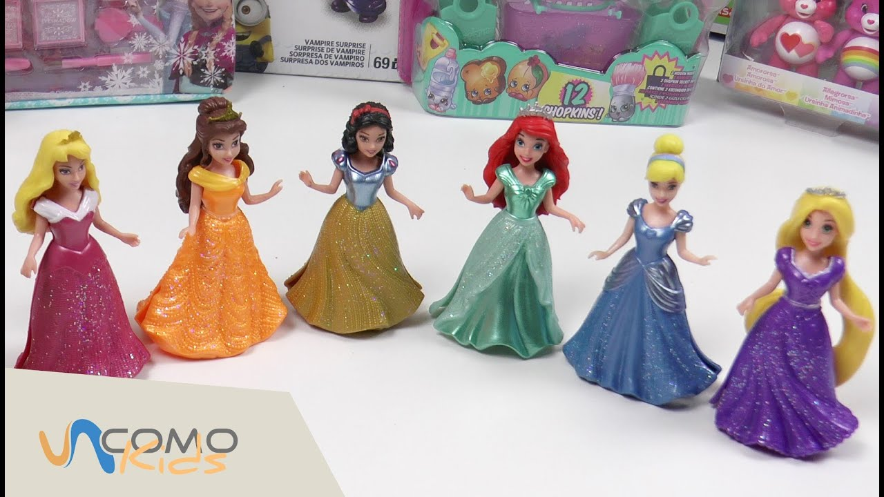 Muñecas De Princesas Disney Vestidos Para Princesas