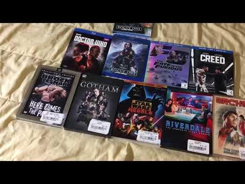 DVD & Blu-ray Haul - Labor Day Sales