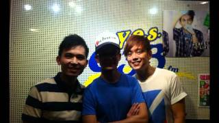YES933FM DJ Kun Hua Interview with Emily, Chi sheng and Weiquan Pt 1 of 3.mpg