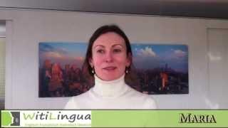 Sprachschule Witilingua, Italienisch, Maria