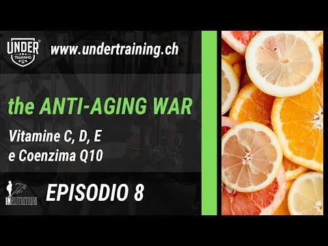 The Anti-Aging War - Episodio 8 - Vitamine C, D, E e Coenzima Q10