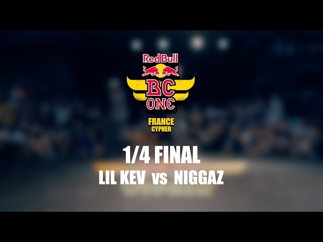 Lil Kev vs Niggaz – Red Bull BC One France Cypher 2016 – 1/4 Final