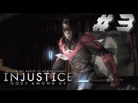 Injustice Story Walkthrough Part 3 Emo Nightwing!