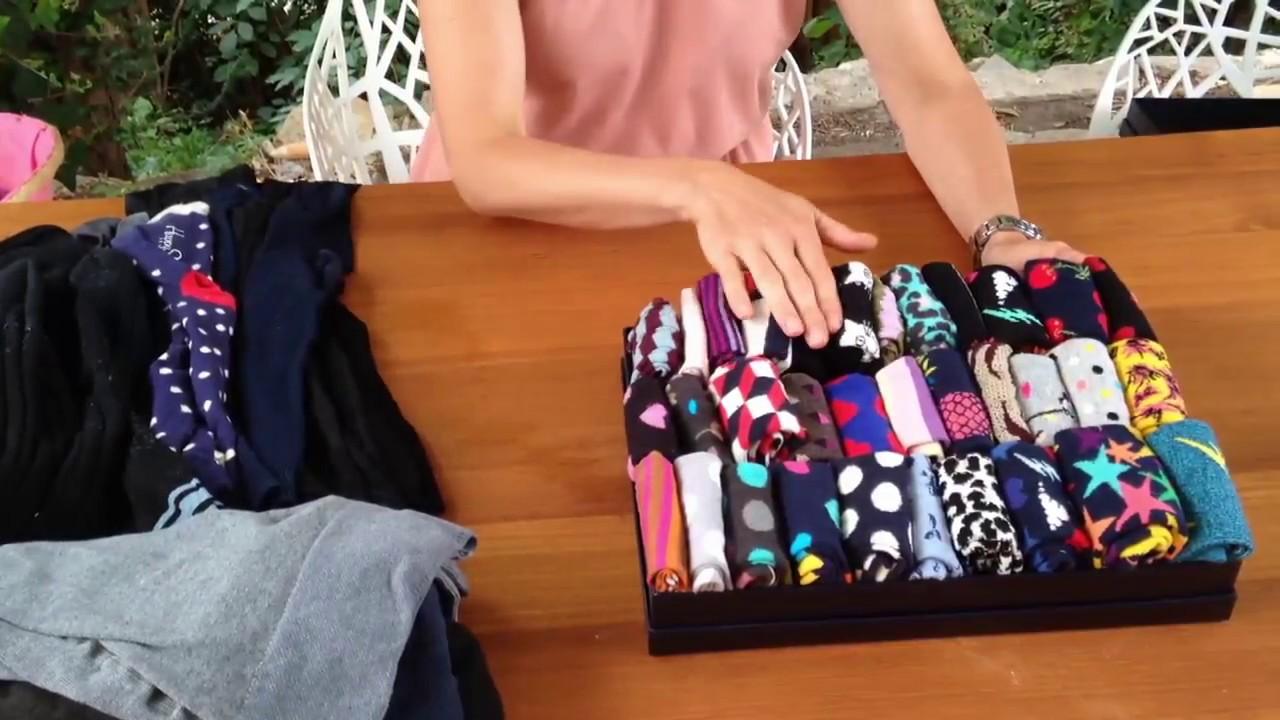 Marie Kondo Methode Der Beginn Socken Youtube