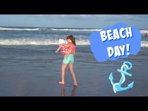 BEACH DAY IN FLORIDA! | COCOA BEACH | DISNEY VACATION VLOGS