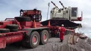 HEAVY HAULAGE GONE WRONG!