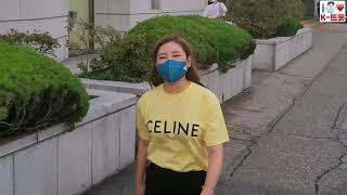 송가인, 무더위 건강 조심하세요~ (KBS '가요무대' 퇴근길)