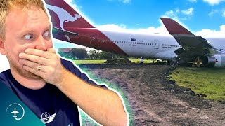 WHY did This Boęing 747 MISS the RUNWAY?!