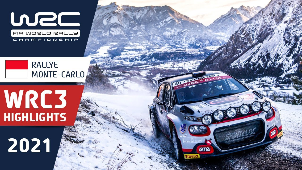 WRC3 - Rallye Monte-Carlo 2021: Saturday Highlights