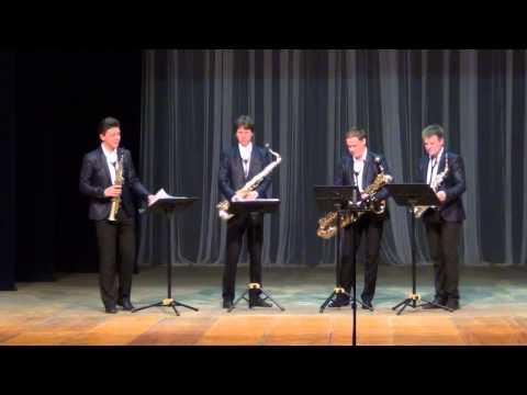 Russian Sax Quartet: Concert In Ekaterinbourg