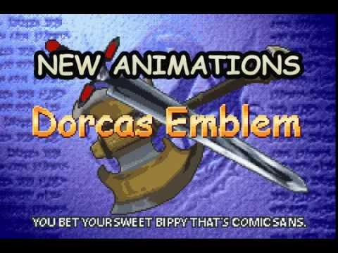 Dorcas Emblem - New animations