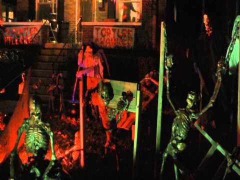 Hillcrest Avenue Louisville, Ky becomes Halloween Street