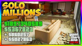 TOP METHODS To Make *MILLIONS* SOLO Fast & Easy In GTA 5 Online | BEST Unlimited Money Guide/Method!