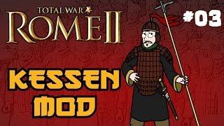 Total War: Rome 2 - Kessen Campaign - Part 3 - Invading Parthia!
