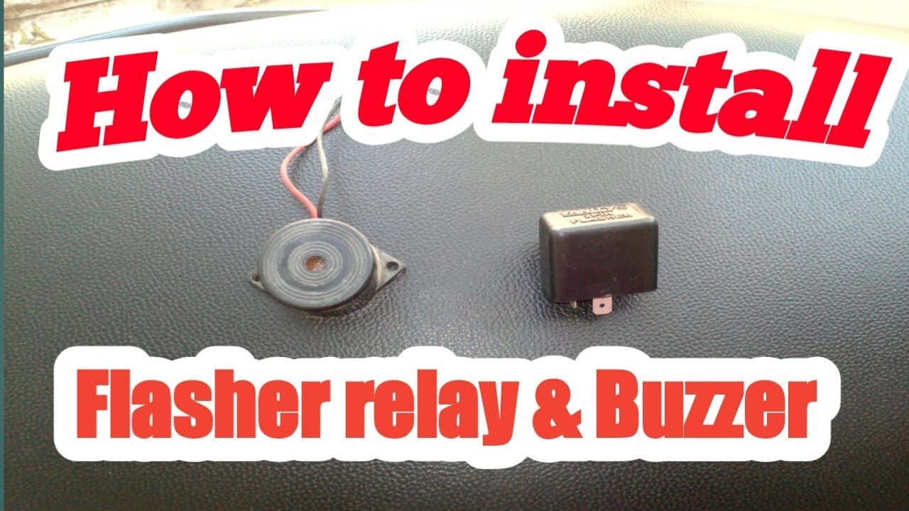 How To Install Flasher Relay Buzzer Suzuki Access 125 Youtube Wiring A