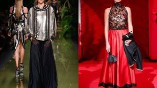 видео Модные и стильные блузки весны 2016