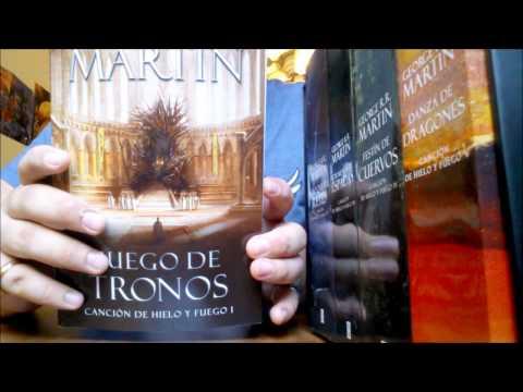unboxing-set-libros-juego-de-tronos
