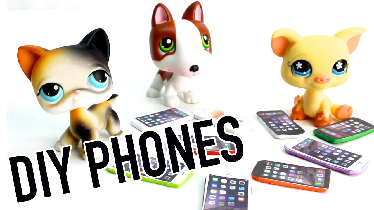 graphic relating to Lps Printable Phones identified as Miniature Apple Apple iphone Manual - Do it yourself Cellular Cell phone for LPS and Dolls