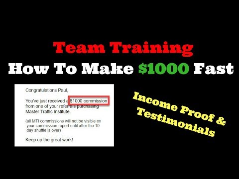 How To Make 1000 Dollars Fast Online - Freedom Takers Training -  Full Time Income Online