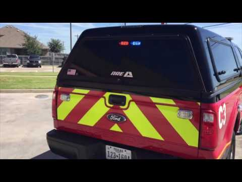 Quick Walk-Around: Midlothian Fire Dept. Fire Marshal's F250