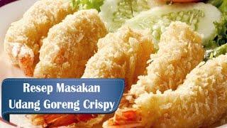 Resep dan Cara Membuat Udang Goreng Crispy