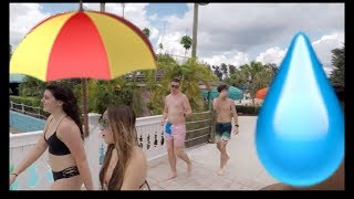 ADVENTURE ISLAND IN TAMPA FLORIDA SUMMER 2018