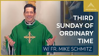Third Sunday of Ordinary Time – Mass with Fr. Mike Schmitz