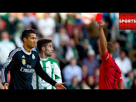 Ronaldo Red Card vs. Cordoba | Potential 3 Match Ban