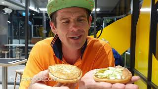 McVeggie Australia Vegan Burger Taste Test VS Hungry Jacks Vegan Burger