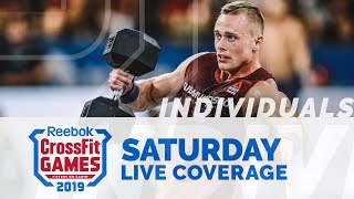Individual Event 7 and 8, Split Triplet and Clean - CrossFit Games
