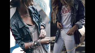 Coolest Denim Jackets for Women Outfits to Try 2019