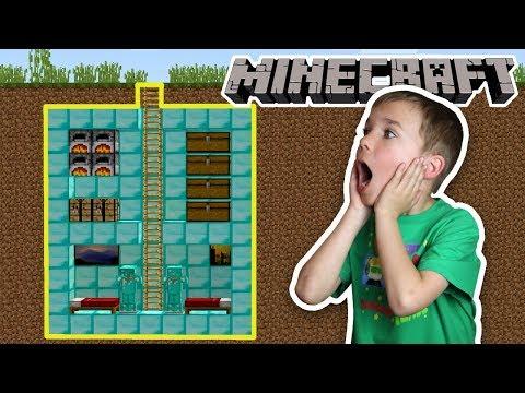 Minecraft: BUILD A PRO SECRET HOUSE CHALLENGE!!!