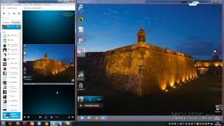 видео Как показать экран в Скайпе