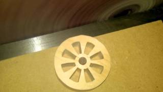 How To Make Consistent Round Wheels On The Scroll Saw.