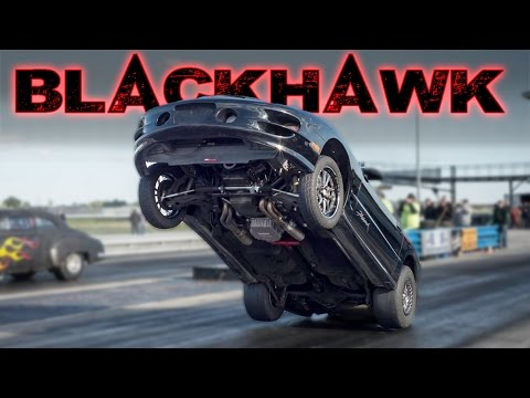 The BLACKHAWK - Nitrous Snuffing STREET CAR!