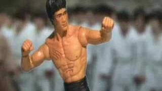 ENTER THE DRAGON Lee vs Han and Bolo