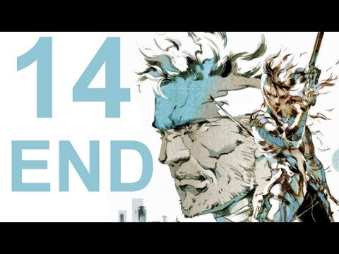 MGS 2 HD Collection - Walkthrough - Part 14 Ending (No Commentary)